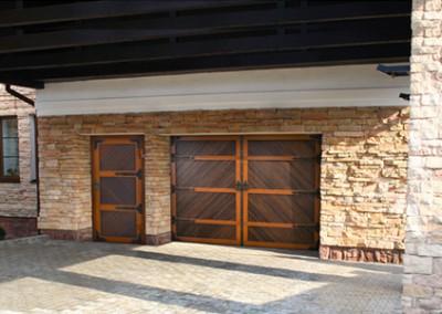 Гаражные двери серии PREMIUM