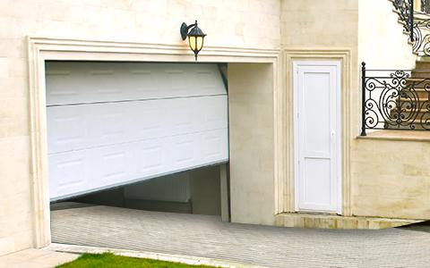 гаражные двери стандартной серии
