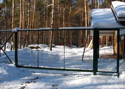 откатные ворота мкрн.Гайва
